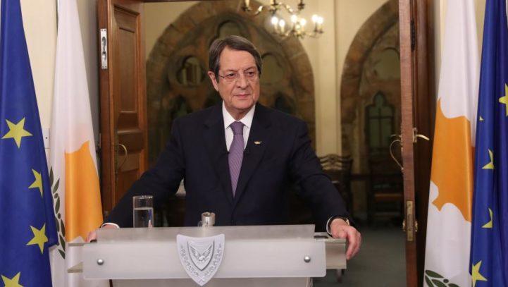 Ευχαριστήρια επιστολή του ΠτΔ Νίκου Αναστασιάδη στον Πρόεδρο της Παγκόσμιας Ομοσπονδίας Αποδήμων Κυπρίων